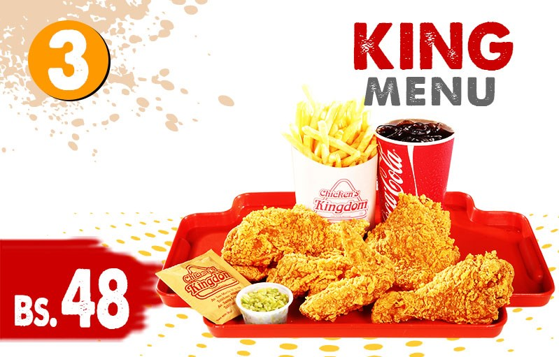 King menu