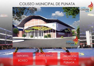Coliseo Municipal de Punata – ODESUR