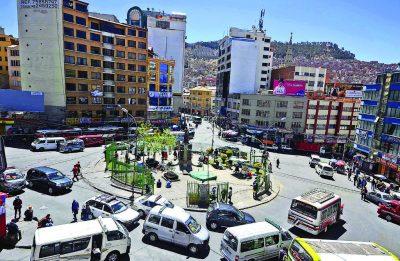 Plaza Eguino – La Paz