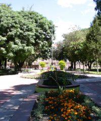Plaza principal de Vinto – Cochabamba