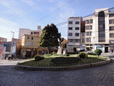 Plaza el Condor – La Paz