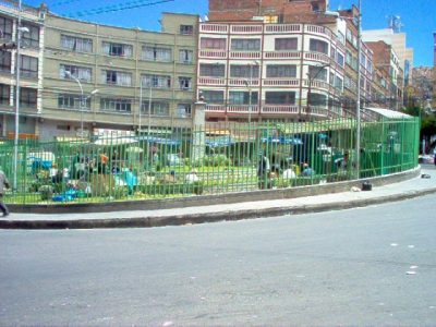 Plaza Marcelo Quiroga Santa Cruz – La Paz