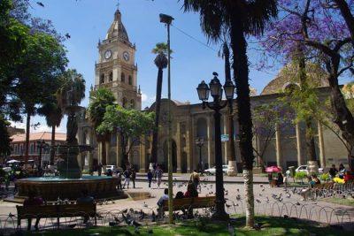 Plaza 14 de septiembre – Cochabamba